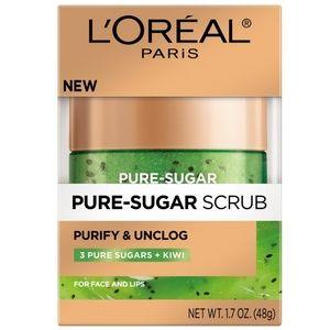 L'OREAL Pure-Sugar Scrub Purify & Unclog